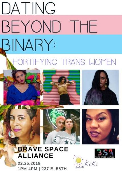 CCC Attends: Dating Beyond the Binary: Fortifying Trans Women