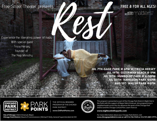 CCC Attends: REST with Free Street Theater and Night Out in the Parks